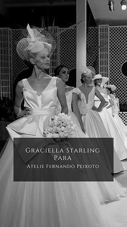 Graciella Starling Alta chapelaria Moda Noiva