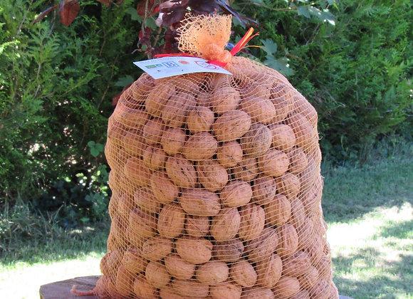 Noix sèches 5 kg, calibre moyen 28-32, variété Franquette
