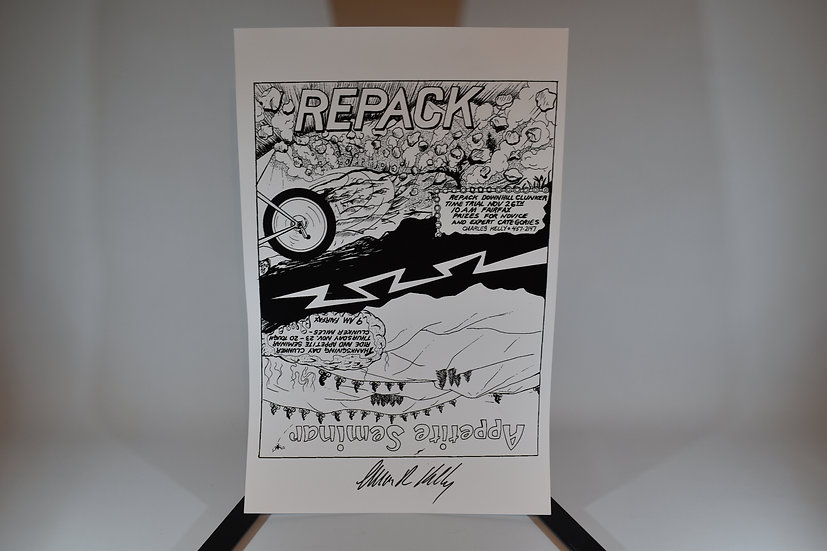 Signed Repack Poster no2
