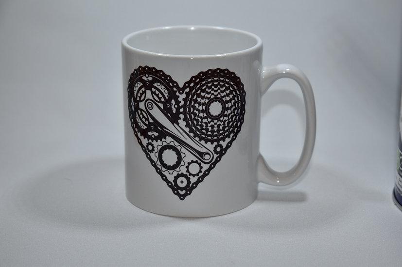 Cycling parts mug