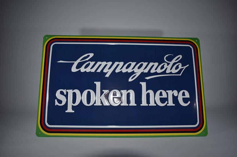 Campagnolo enamel sign