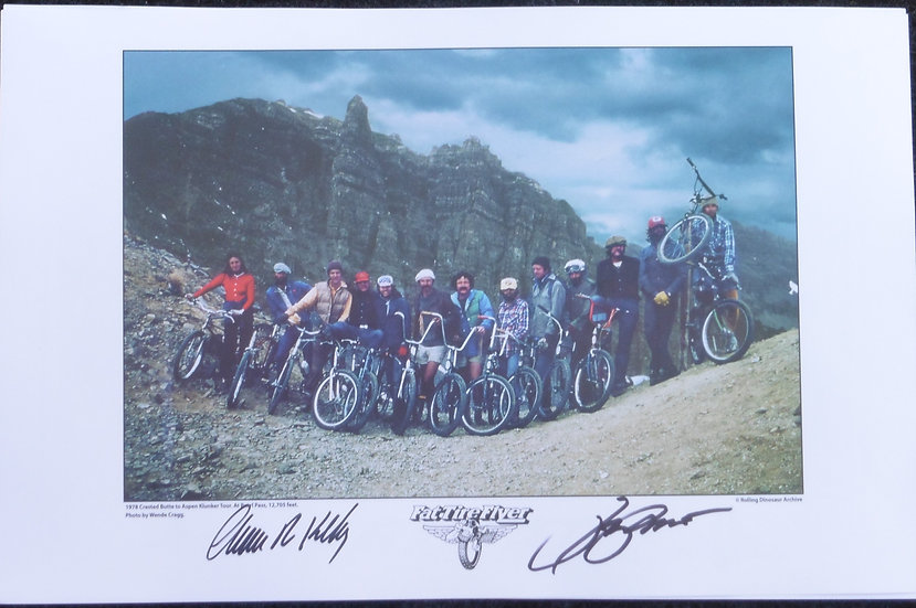 Wende Cragg Photo Poster signed - pre-order cost