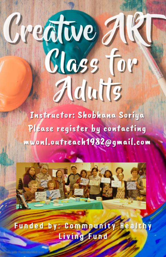 CHLF Art Class Poster 2019-2020