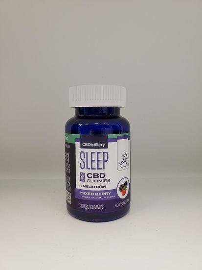 Sleep CBD Gummies + Melatonin