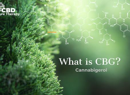 What is Cannabigerol - CBG?