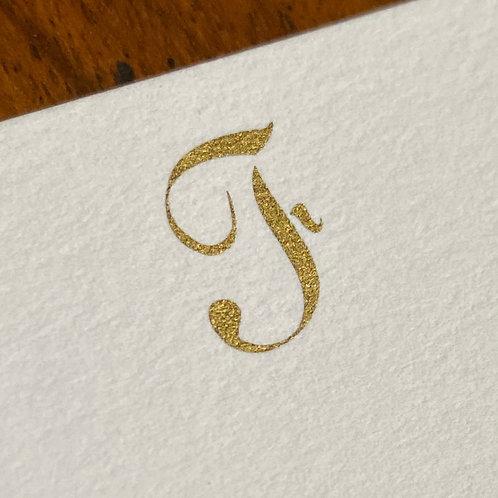 Cartão de Correspondência Lettera F