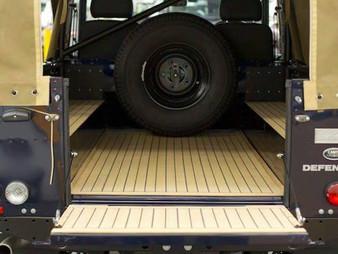 Range Rover Defender - багажник из гибкого тика
