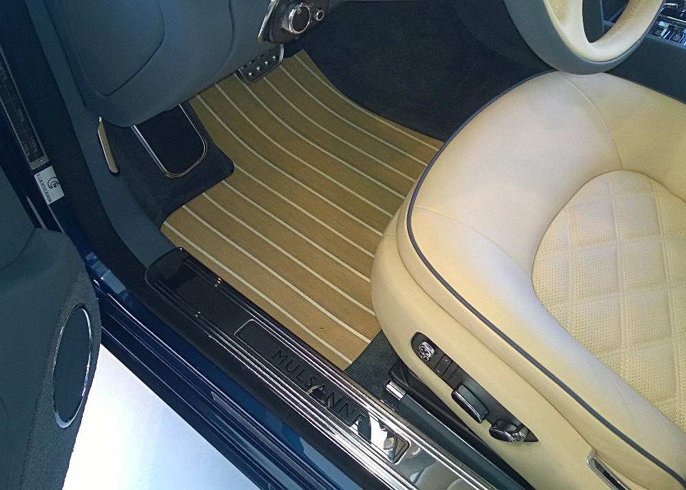 Коврики в Bentley Mulsanne