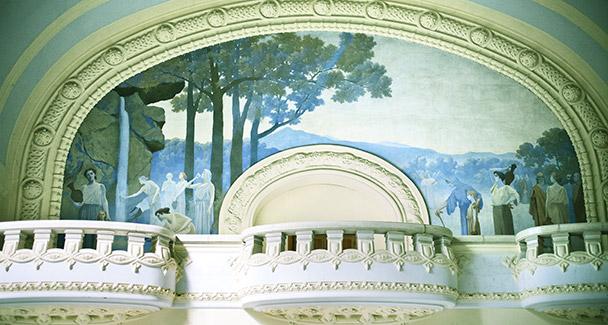 Décoration murale Vichy