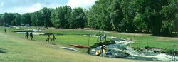 kayak: rivière artificielle