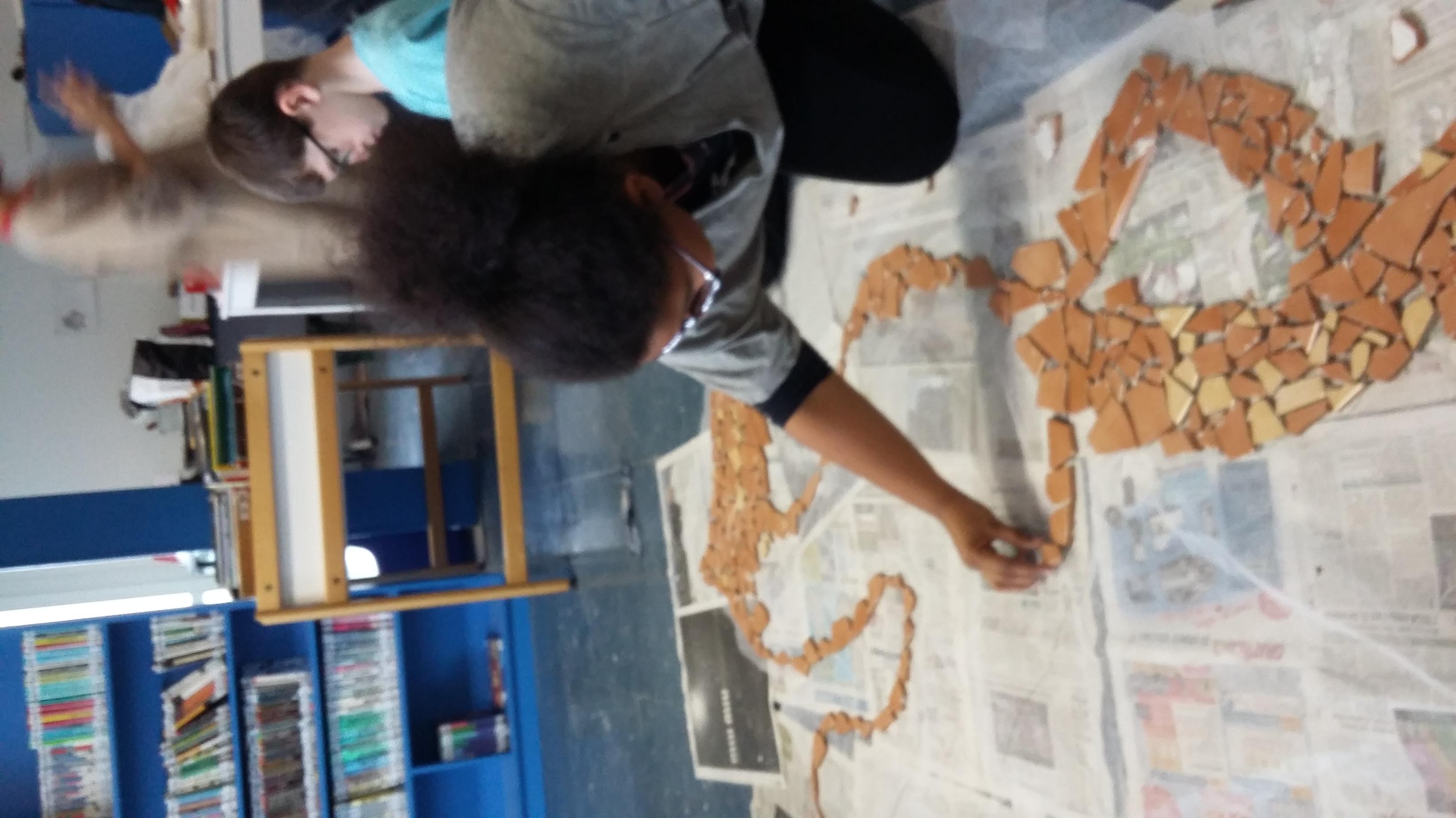 Atelier Mosaïque Ecole des Darcins