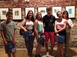 Résidence d'artistes de jeunes