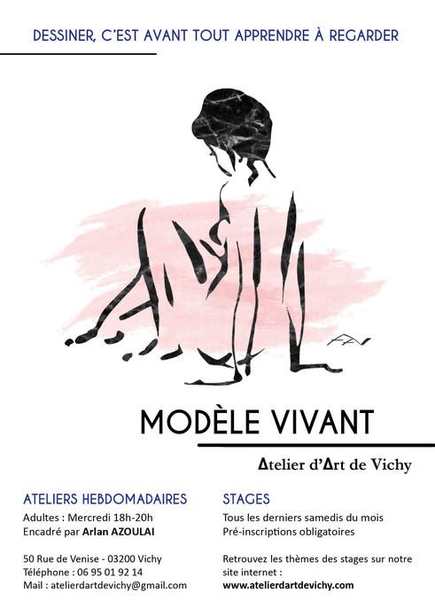 Atelier d'Art de Vichy modele vivant 202