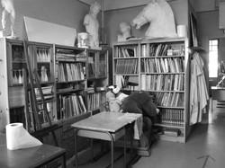 Une bibliothèque artistique