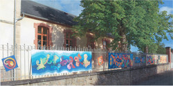 Fresque école de Busset