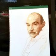 Poirot Photocoloriage