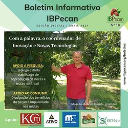 Boletim Informativo IBPecan edição abril