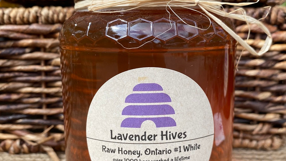LH - Raw Honey (Large Jar 950g)