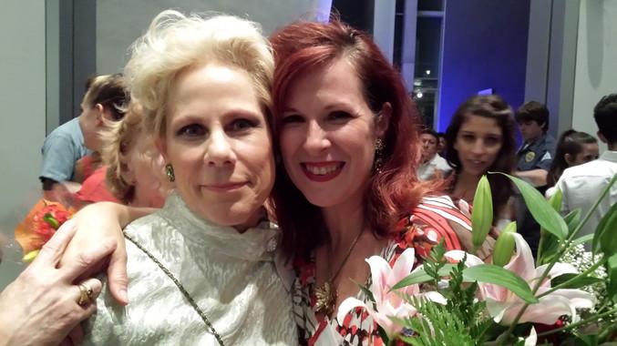 Irene Rampino with Garland Goodwin Wilson