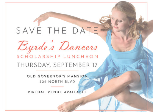 Byrde's Dancers Scholarship Luncheon Now Has Online Venue