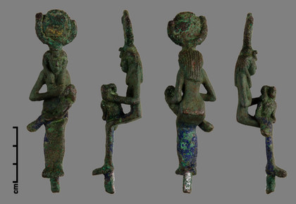 Copper Alloy Figurine - After