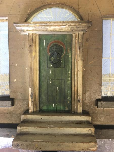 Front door pre inpainting