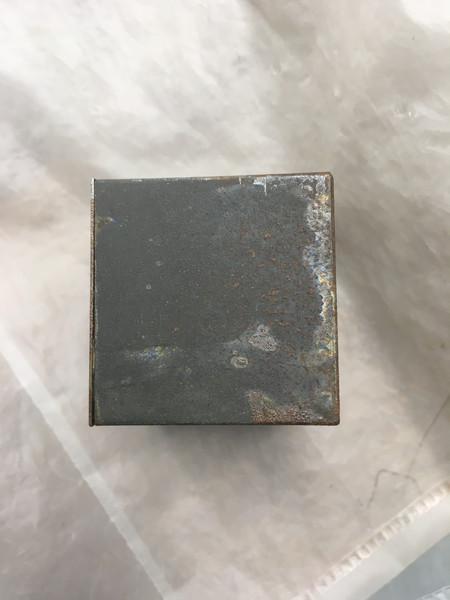 Metal box, pre treatment