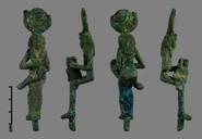 Copper Alloy Figurine - Before