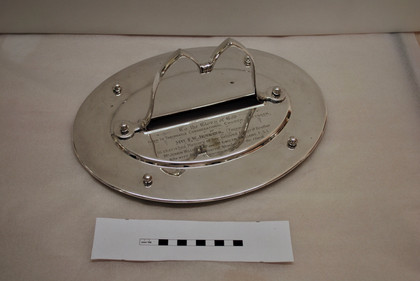 Silver Plated Communion Tray - After