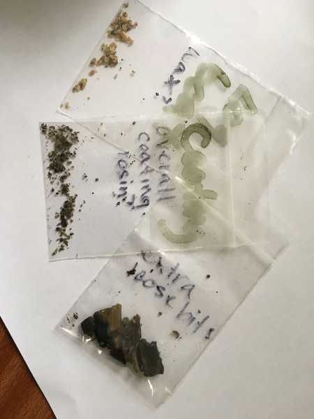 Samples for testing