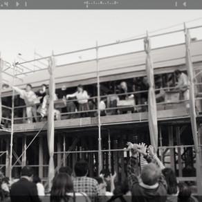進行中の住宅が上棟しました
