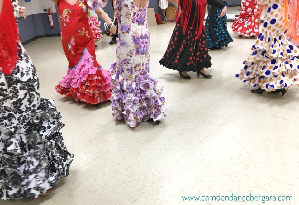 flamenco sevillanas academia baile