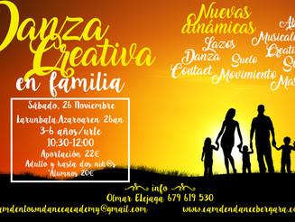 Danza Creativa en Familia