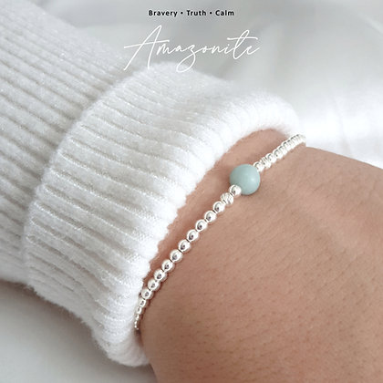Amazonite Crystal Healing Bracelet