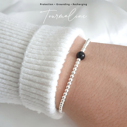 Tourmaline Crystal Healing Bracelet