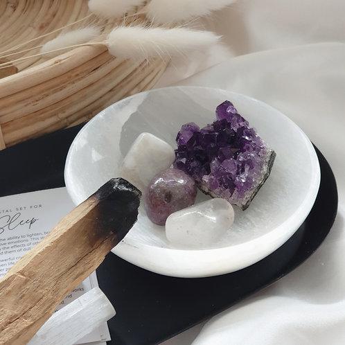 Crystals for sleep, crystal set