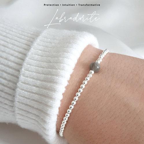 Labradorite Crystal Healing Bracelet