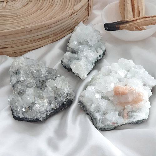 Apophyllite Cluster - Medium