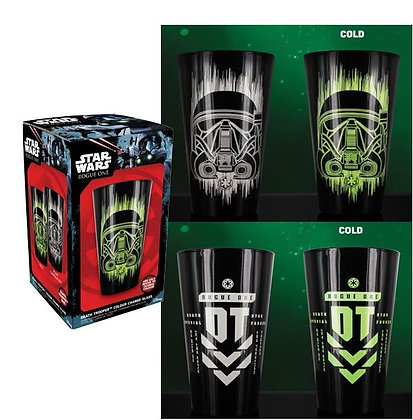 STAR WARS ROGUE ONE - Verre thermo Trooper vert