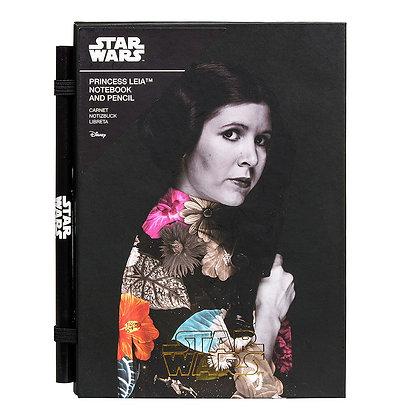 STAR WARS - Cahier avec Crayon Version Princess Leia