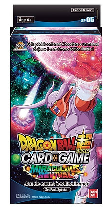 DRAGON BALL SUPER JCC - Special Pack 5 Miraculous Revival
