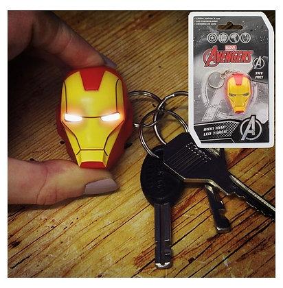 MARVEL - Torche LED en Porte-clef Iron Man