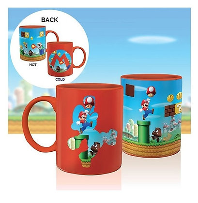 NINTENDO - Mug thermo-reactif Super Mario