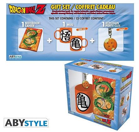 """DRAGON BALL - Pck Mug320ml + Keyring+ Cahier """"Dragon Ball"""""""