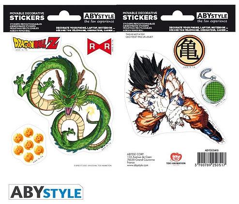 DRAGON BALL - Mini stickers Shenron et Son Goku (16 x 11 cm)