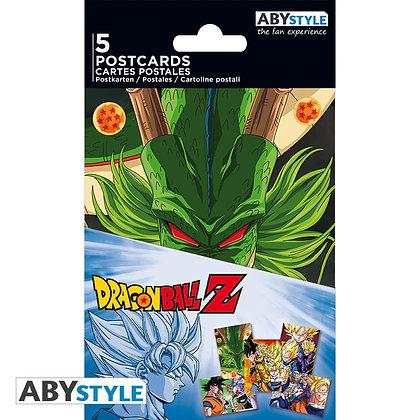 DRAGON BALL Z Cartes postales Set 1
