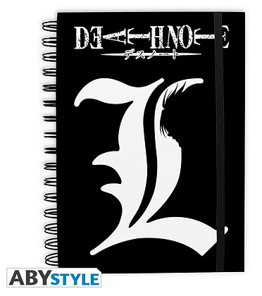 """DEATH NOTE - Cahier """"L"""""""