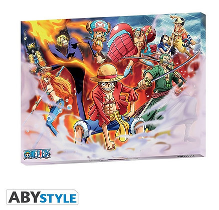 ONE PIECE - Toile Equipage (30x40)