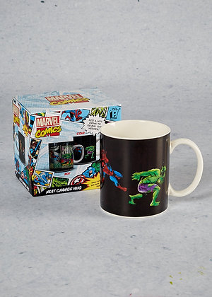 MARVEL - Mug thermo-reactif Marvel Comics