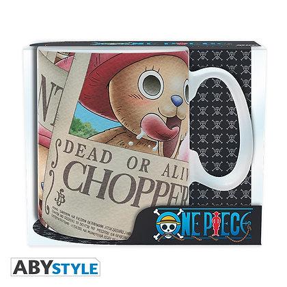 ONE PIECE Mug Tony Tony Chopper Wanted Grand contenant